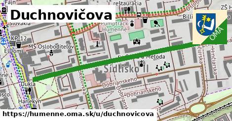 ilustrácia k Duchnovičova, Humenné - 544m