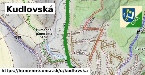 ilustrácia k Kudlovská, Humenné - 2,3km