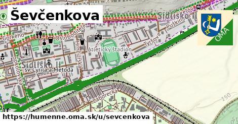 ilustrácia k Ševčenkova, Humenné - 2,9km