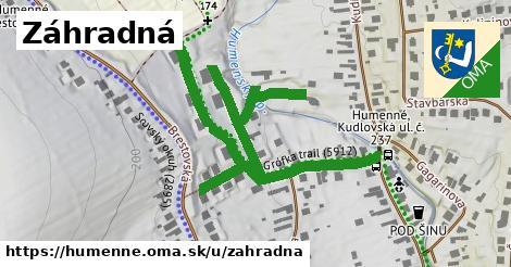 ilustrácia k Záhradná, Humenné - 0,81km