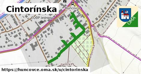 ilustrácia k Cintorínska, Huncovce - 298m