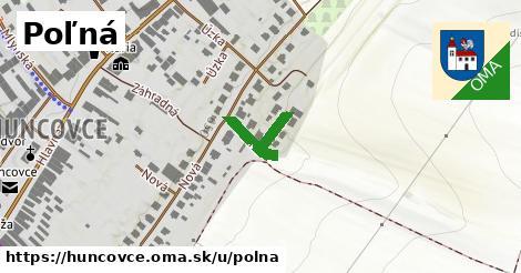 ilustrácia k Poľná, Huncovce - 545m