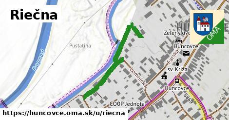 ilustrácia k Riečna, Huncovce - 361m