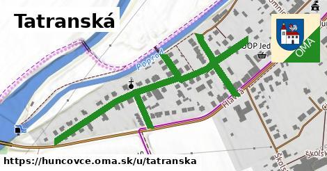 ilustrácia k Tatranská, Huncovce - 406m