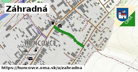 ilustrácia k Záhradná, Huncovce - 192m