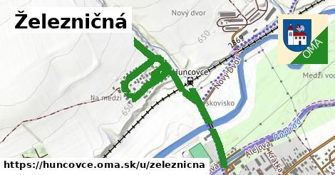 ilustrácia k Železničná, Huncovce - 404m