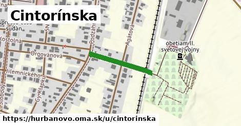 ilustračný obrázok k Cintorínska, Hurbanovo