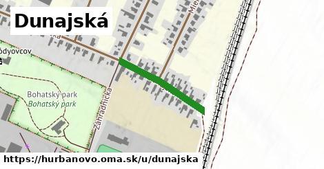 ilustrácia k Dunajská, Hurbanovo - 217m