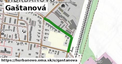 ilustrácia k Gaštanová, Hurbanovo - 304m