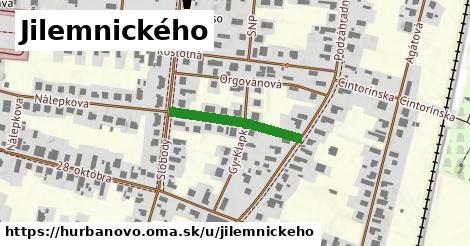 ilustrácia k Jilemnického, Hurbanovo - 216m