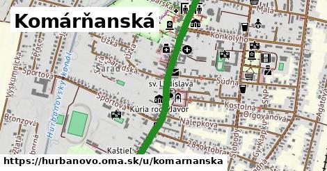 ilustrácia k Komárňanská, Hurbanovo - 1,16km
