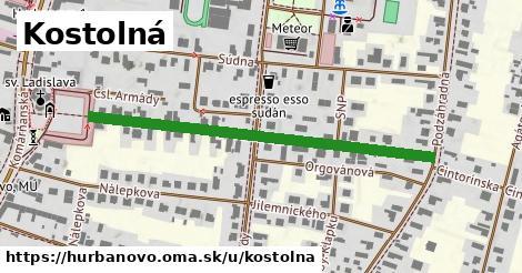 ilustrácia k Kostolná, Hurbanovo - 505m