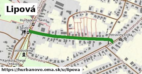 ilustrácia k Lipová, Hurbanovo - 457m