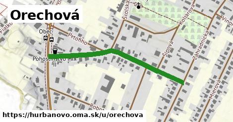 ilustrácia k Orechová, Hurbanovo - 463m