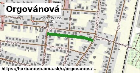 ilustrácia k Orgovánová, Hurbanovo - 251m