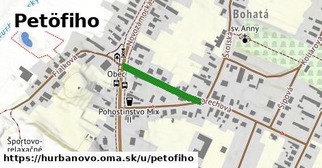 ilustrácia k Petöfiho, Hurbanovo - 200m