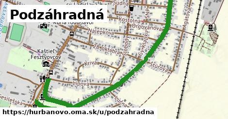 ilustrácia k Podzáhradná, Hurbanovo - 2,1km