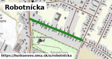 ilustrácia k Robotnícka, Hurbanovo - 388m