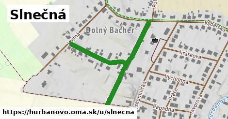 ilustrácia k Slnečná, Hurbanovo - 512m