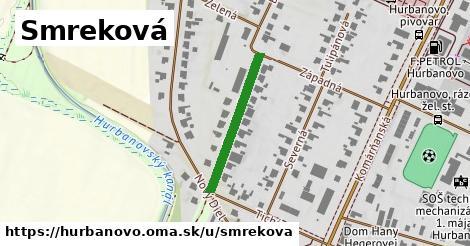 ilustrácia k Smreková, Hurbanovo - 238m
