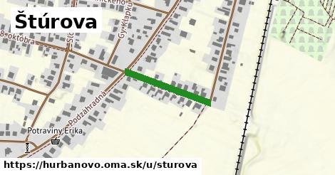 ilustrácia k Štúrova, Hurbanovo - 205m