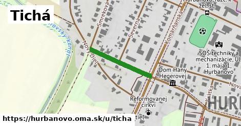 ilustrácia k Tichá, Hurbanovo - 211m