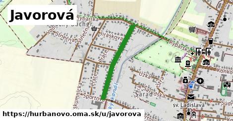 ilustrácia k Javorová, Hurbanovo - 526m