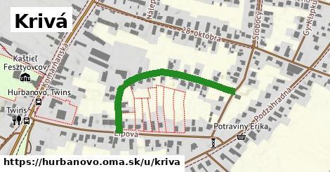 ilustrácia k Krivá, Hurbanovo - 379m