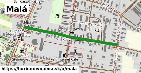 ilustrácia k Malá, Hurbanovo - 505m