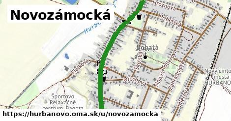 ilustrácia k Novozámocká, Hurbanovo - 2,2km