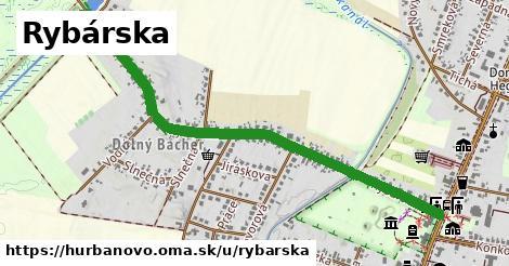 ilustrácia k Rybárska, Hurbanovo - 1,31km