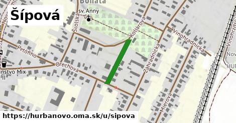 ilustrácia k Šípová, Hurbanovo - 158m