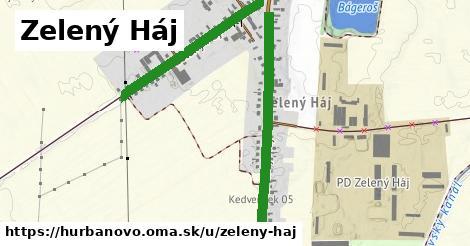 ilustrácia k Zelený Háj, Hurbanovo - 1,52km