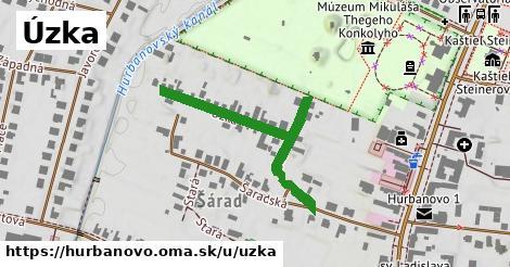 ilustrácia k Úzka, Hurbanovo - 407m