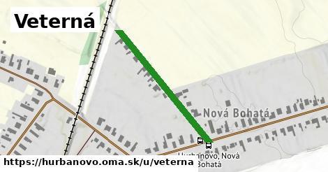 ilustrácia k Veterná, Hurbanovo - 334m