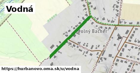 ilustrácia k Vodná, Hurbanovo - 310m