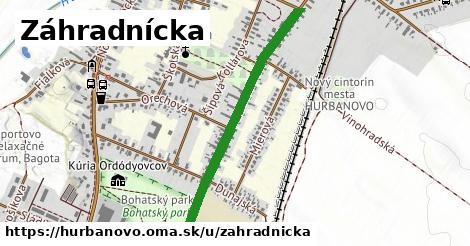 ilustrácia k Záhradnícka, Hurbanovo - 0,87km