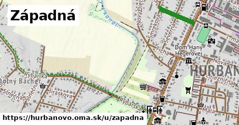 ilustrácia k Západná, Hurbanovo - 429m