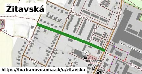 ilustrácia k Žitavská, Hurbanovo - 387m