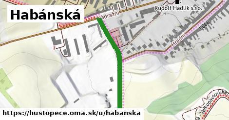 ilustrácia k Habánská, Hustopeče - 308m