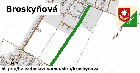 ilustrácia k Broskyňová, Hviezdoslavov - 0,78km
