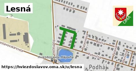 ilustrácia k Lesná, Hviezdoslavov - 270m