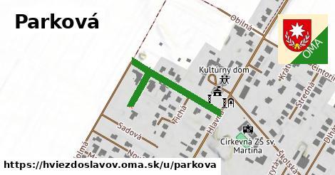 ilustrácia k Parková, Hviezdoslavov - 230m
