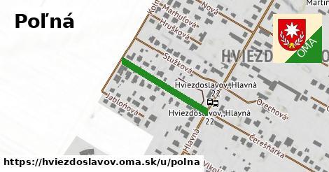 ilustrácia k Poľná, Hviezdoslavov - 229m