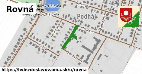 ilustrácia k Rovná, Hviezdoslavov - 148m