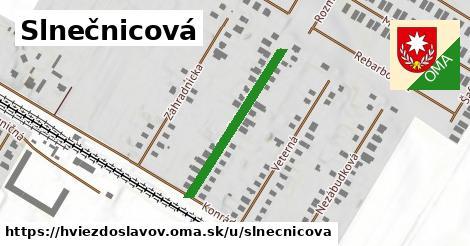 ilustrácia k Slnečnicová, Hviezdoslavov - 278m