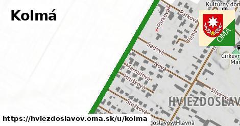ilustrácia k Kolmá, Hviezdoslavov - 471m