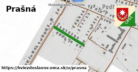 ilustrácia k Prašná, Hviezdoslavov - 196m