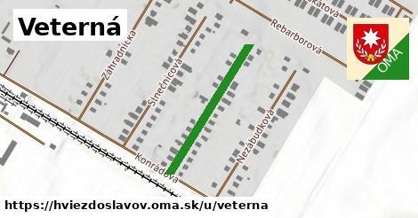 ilustrácia k Veterná, Hviezdoslavov - 274m