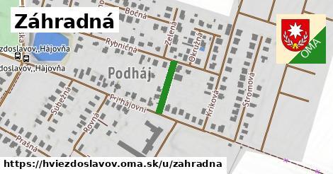ilustrácia k Záhradná, Hviezdoslavov - 124m